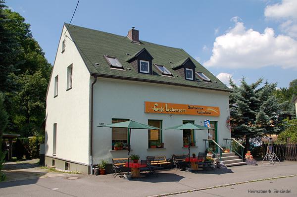 Café Lebensart in Einsiedel 2007
