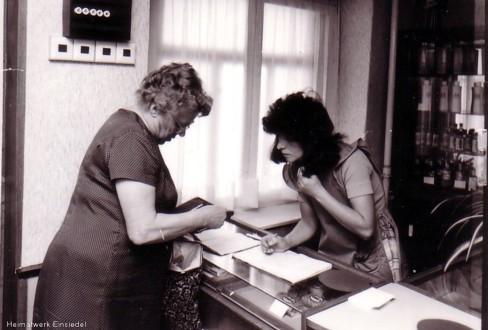 Andra Hamar, früher Lehrling im Friseursalon Belling