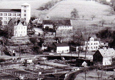 Doktorbrücke und Doktorhäusel in den 1960er Jahren