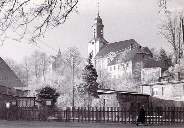 Hauptstraße 70 im März 1962