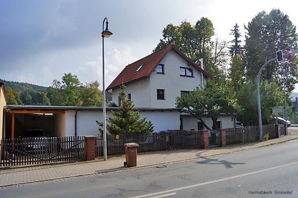 Ehemaliger Getränkehandel Brühl in Einsiedel 2014