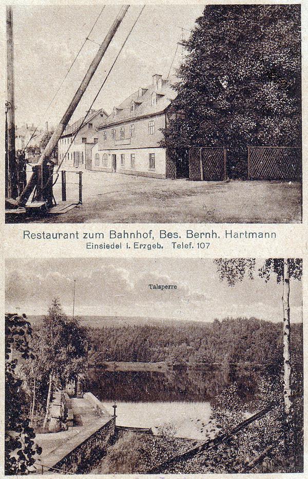 Restaurant zum Bahnhof in Einsiedel