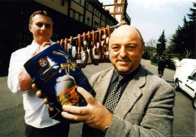 Zwickelbierfest des Einsiedler Brauhauses Ostern 2000