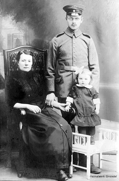 Schroll Marth, Paul mit Tochter Dora