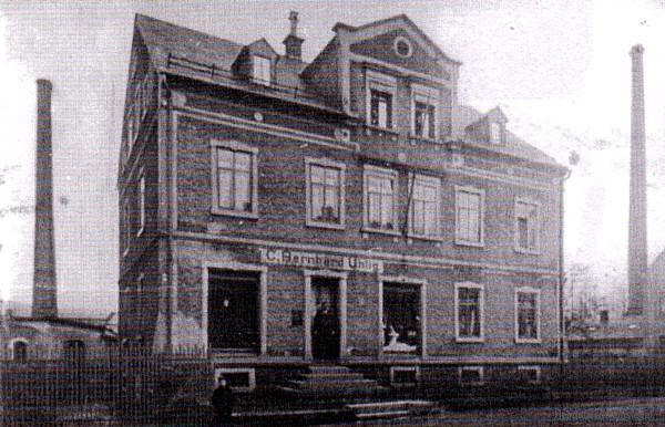 Pfandleiher Bernhard Uhlig, Einsiedel, um 1925
