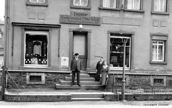 Einsiedler Konfektionshaus Paul Schroll, früher Berbisdorf
