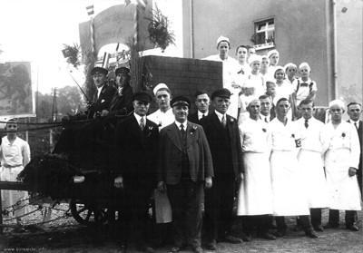 Bäckereinnung Einsiedel um 1935
