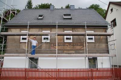 Fassadensanierung Einsiedler Hauptstr. 122 2008