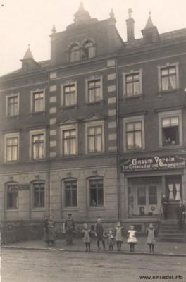 Roter Konsum, Aufnahme um 1915
