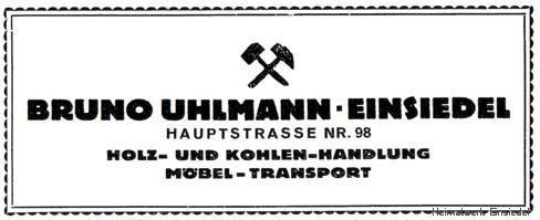 Werbung Bruno Uhlmann 1926