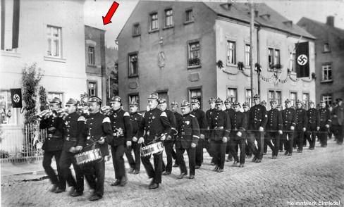 Freiwillige Feuerwehr Einsiedel, Umzug in den 1930er Jahren
