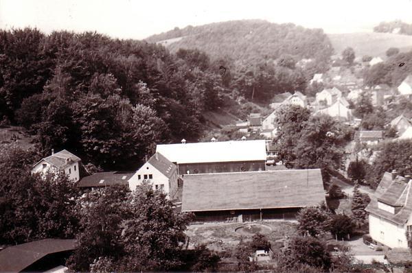 Das Müller-Gut in Einsiedel 1975