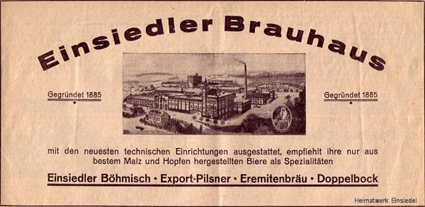 Reklameanzeige Chemnitzer Tageblatt Oktober 1936