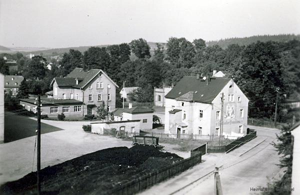 Wohnhaus der Brauerei Einsiedel in den 1950er Jahren