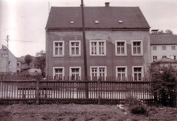 Wohnhaus des Einsiedler Brauhauses in den 1970er Jahren