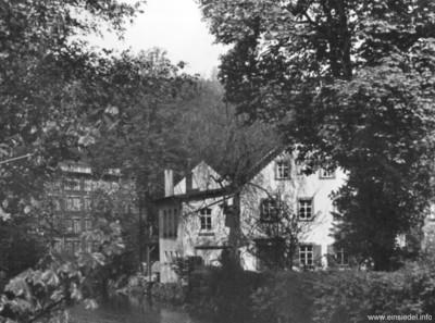 Druckerei Baßler von der Doktorbrücke aus gesehen