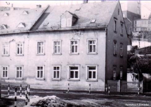 Einsiedel, Hauptstraße 84, Winteraufnahme nach 1961