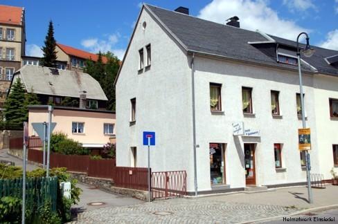 Schreibwarengeschäft Ria Sieber in Einsiedel 2006, eine Nachfolgerin der Buchbinderei Zickmantel