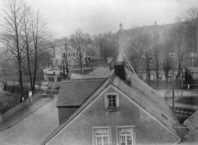 Bahnübergang Einsiedel vor 1936