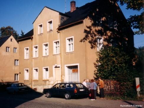 Uhrmacher Grüner in Einsiedel um 1990/91