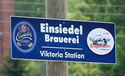 """Behelfsbahnsteig """"Viktoria Station"""" in Einsiedel 2006"""