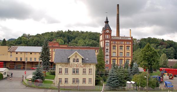 """Die Privatbrauerei """"Einsiedler Brauhaus"""" im September 2005"""