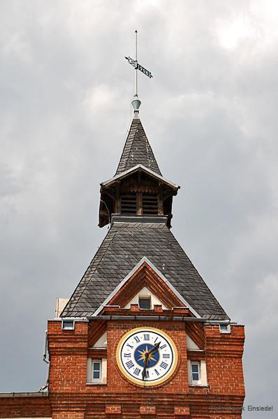 Im historischen Turm des Einsiedler Brauhauses 2008