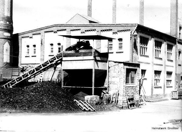 Der Kohlerbunker im letzten Betriebsjahr 1974