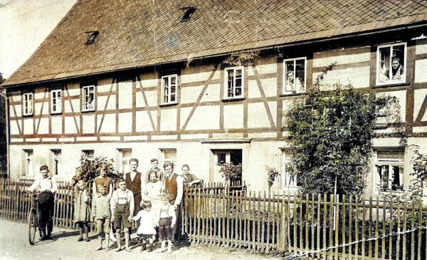 Fachwerkhaus Rosenstraße 11 um 1940