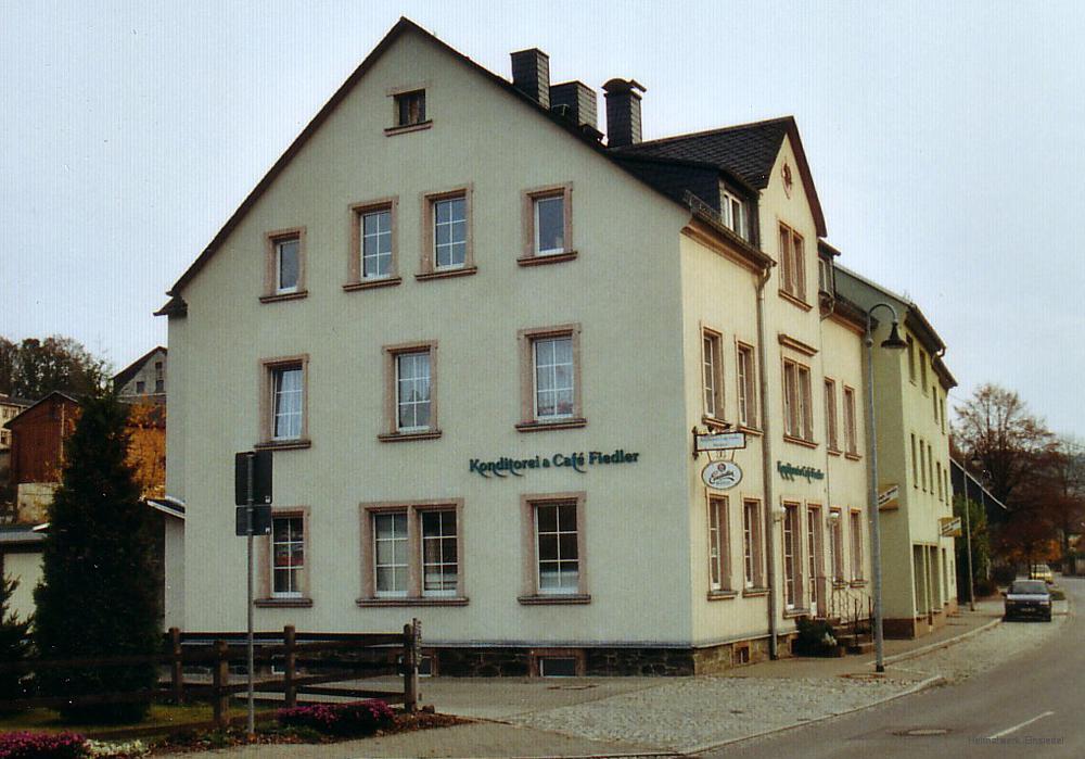 Konditorei und Café Fiedler, Einsiedel, 2004