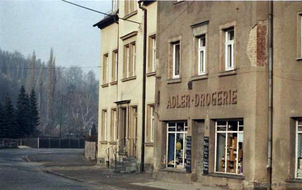 Konditorei Fiedler in Einsiedel 1987