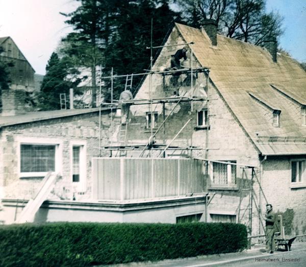 Umbauten 1981 in der Berbisdorfer Straße 18 in Einsiedel