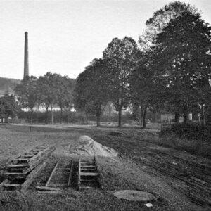 Bau der Entlastungsstraße 1937-38