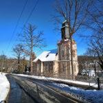 Postalisch: Kirche Einsiedel - Bilder vom Tage