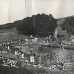 Sommerbad Erfenschlag 1931 - Bilder vom Tage