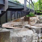 Brückenbau in Höhe Sägewerk Kunze - Bilder vom Tage