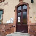 Historische Tafel am Einsiedler Rathaus - Bilder vom Tage