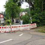 Wasserleitungsbau Altenhainer Allee - Bilder vom Tage