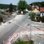 Ende der Ampelregelung am Bahnübergang - Bilder vom Tage