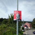 Wahlplakat Detlef Müller, SPD, 2021 - Bilder vom Tage